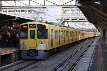 2010年10月7日、所沢、2455F+2097Fの2104レ。