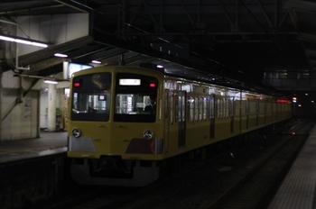 2010年10月4日 19時54分ころ、所沢、259Fの新宿線・下り回送列車。