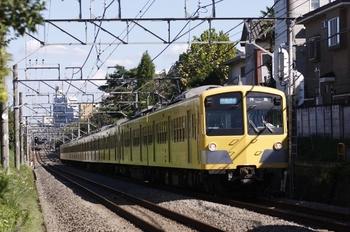 2010年10月11日、武蔵関~東伏見、281F+1301Fの3309レ。