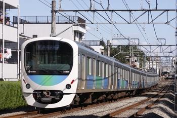 2010年10月11日、武蔵関~東伏見、38106Fの5266レ。