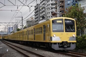 2010年10月12日、高田馬場~下落合、1239F+1245F+295Fの2754レ。