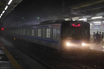 2010年10月13日 19時55分頃、西所沢、20153Fの上り回送列車。