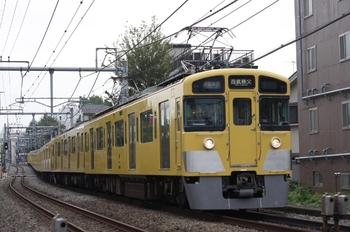 2010年10月14日、池袋~椎名町、2451F+2071Fの西武秩父ゆき通準 4801レ。