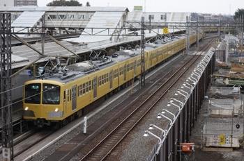2010年10月19日、所沢、4107レの287F+1309F。