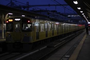 2010年10月21日、所沢、2531F+2411F+2515Fの2802レ。