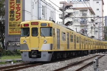 2010年10月22日、高田馬場~下落合、2419F+2537F+2505Fの2754レ。