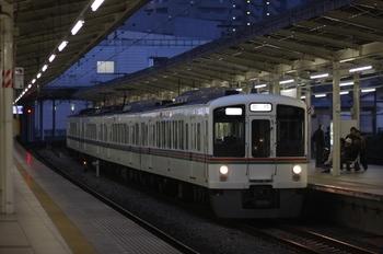 2010年10月24日 16時45分頃、入間市、4003Fの上り臨時列車。