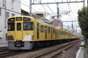 2010年10月29日、池袋~椎名町、2063F+2461Fの4801レ(西武秩父ゆき)。