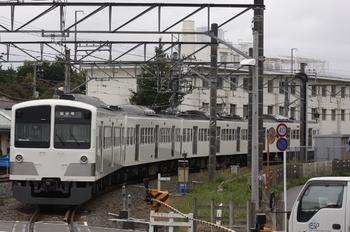 2010年10月31日、萩山、真っ白な1259Fの6492レ。