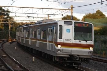 2010年11月3日、入間市、メトロ7005Fの2139レ。