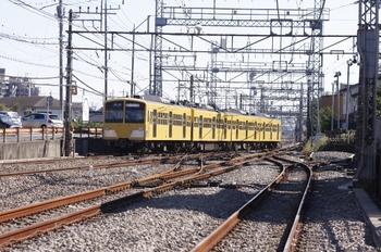 2010年11月3日 11時36分頃、西所沢、狭山線へ送り込まれた1241F。