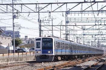2010年11月3日 11時46分頃、西所沢、6110Fの準急 入間市ゆき。