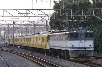 2010年11月6日 15時45分頃、府中本町、EF65-1088+2079Fの北行貨物列車。