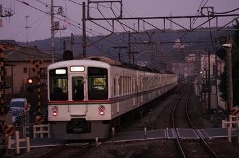 2010年11月14日 16時40分頃、元加治、4000系4+4連の上り臨時列車。