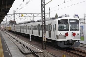 2010年11月13日 8時すぎ、所沢、6番線に留置中の1259F+263F。