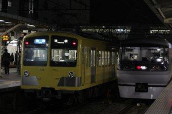 2010年11月19日、所沢、左が287F+1309Fの3120レ。