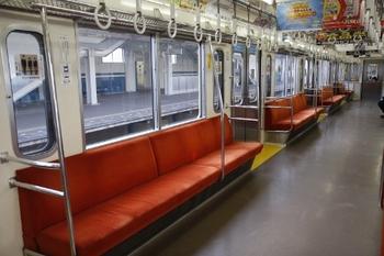 2010年11月28日、西所沢、モハ2601の車内。
