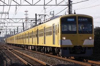 2010年12月11日、小川~東大和、1245F+1239F+295Fの3318レ。