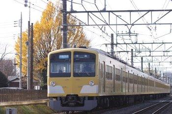 2010年12月12日、小川~東大和、1245F+1239F+295Fの3309レ。