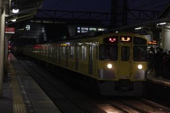 2010年12月15日、所沢、2077F+2459Fの2104レ。