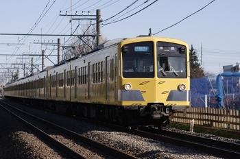 2010年12月23日、小川~東大和市、281F+1311Fの3309レ。