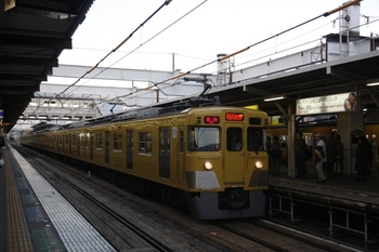 2010年12月23日、所沢、2407F+2031Fの2814レ。