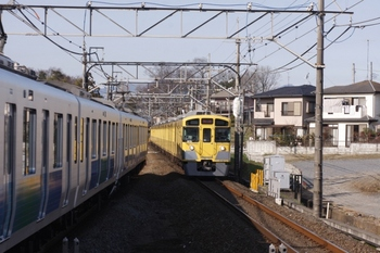 2010年12月26日 10時28分、元加治、2071Fの上り回送列車。