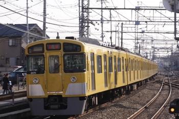 2010年12月26日 10時56分、西所沢、2071Fの上り回送列車。