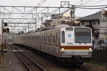 2010年12月29日、清瀬~秋津、メトロ7004Fの4519レ。