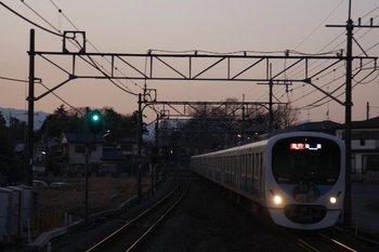 2011年1月8日、元加治、38105F+32103Fの2170レ。
