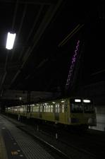 2011年1月8日、所沢、6番線で折り返しを待つ1241Fの狭山線送り込み回送列車。