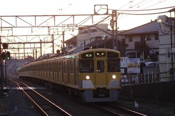 2011年1月9日、秋津、2063Fの4107レ。
