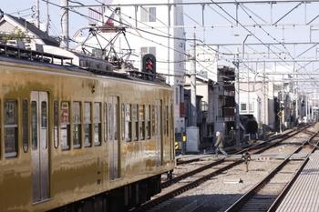 2011年1月4日 10時30分ころ、東長崎、287Fほかの下り回送列車。