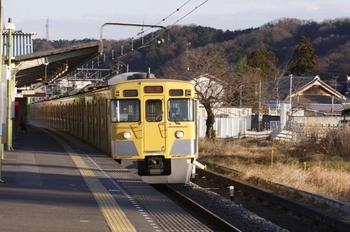 2011年1月4日 15時25分頃、元加治、2003Fの下り回送列車。