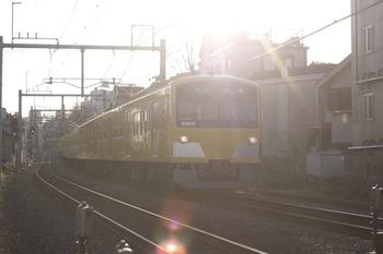 2011年1月11日、池袋~椎名町、5805レの3003F。