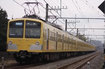 2011年1月15日、小川~東大和市、281F+1311Fの3309レ。