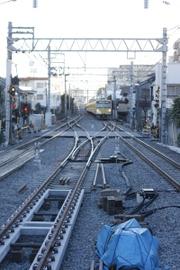 2011年1月17日、保谷、1303Fの5207レ。