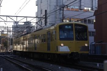 2011年1月19日、高田馬場~下落合、285F+1301Fの4251レ。