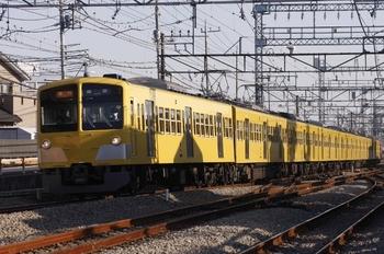2011年1月22日、西所沢、1309Fの2131レ。