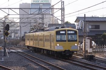 2011年1月22日 15時33分ころ、所沢、287F(?)の下り試運転列車。