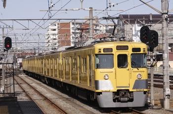 2011年1月23日、小川、2409F+2507Fの6674レ。