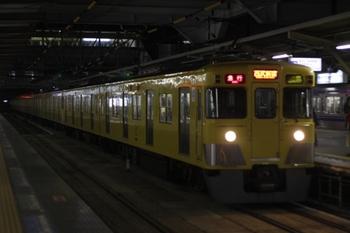 2011年1月24日、所沢、2403F+2065Fの2604レ。