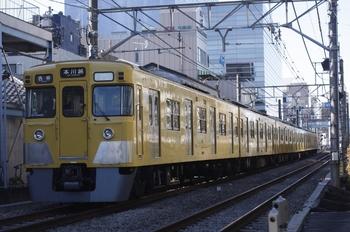 2011年1月25日、高田馬場~下落合、2013Fの5621レ(?)。