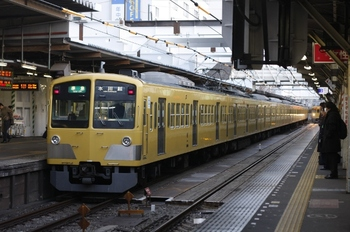 2011年1月28日、所沢、1301Fの4605レ。