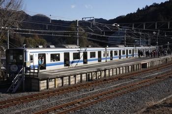2011年1月30日、吾野、1007レの20151F。