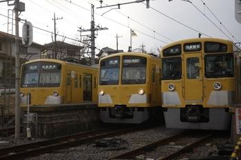 2011年1月30日、西武園、中央が発車した1245Fの6270レ。