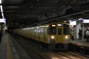 2011年2月8日、所沢、2525F+2023Fの2804レ。
