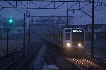 2011年2月11日、元加治、6011Fの4602レ。