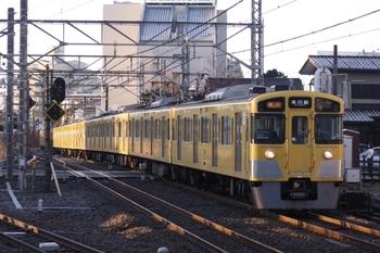 2011年2月13日、所沢、2539F+2029Fの2605レ。