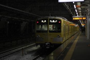2011年2月14日、西所沢、6194レの1241F。